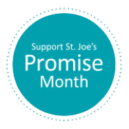 Support St. Joe's Promise Month