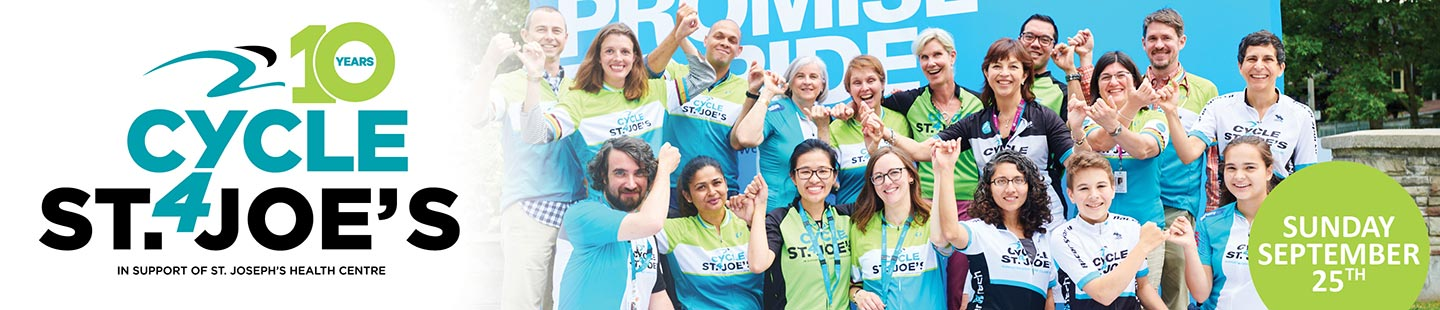 Cycle for St. Joe's - Let's cycle to celebrate 100 years of care.